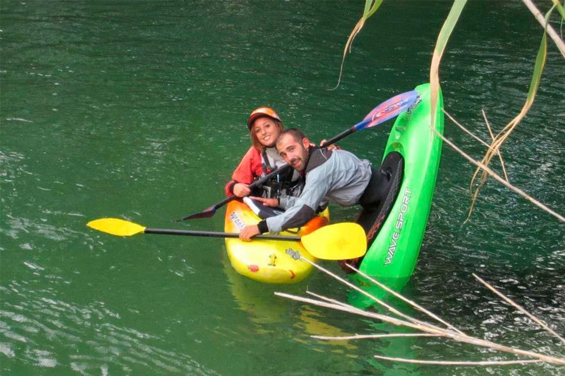 Kayak Enguídanos - Sección B (playeta -puente)